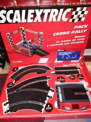 Scalextric pack crono.
