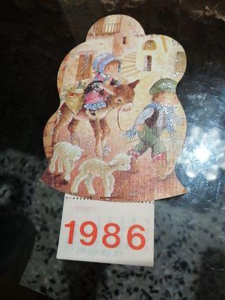 Postal calendario