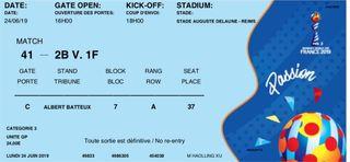 FIFA Women's World Cup Match 41