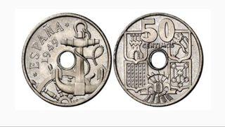 Moneda 25 pesetas 1949