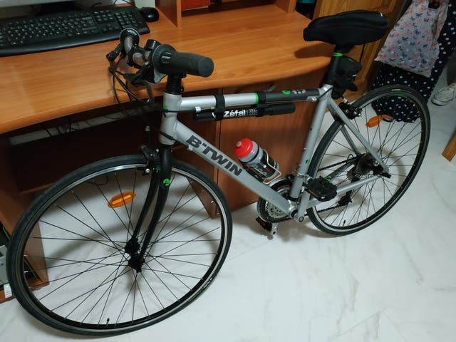 Bicicleta Btwin de carretera