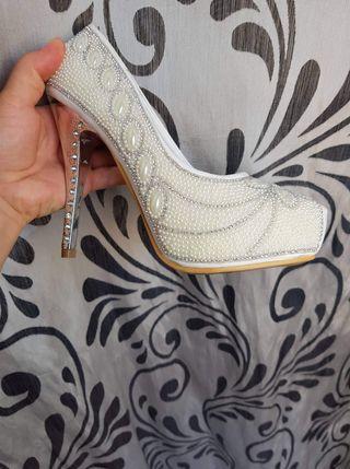 zapatos novia sin estrenar