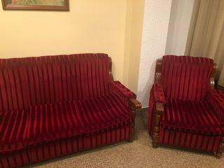 conjunto sofá 3 plazas + 2 sillones