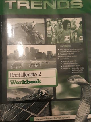 Libro de Ingles+Cuadernillo de 2° Bachillerato