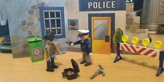 Playmobil LPM Policias y ladrones