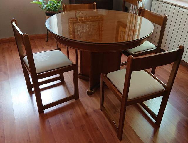 Mesa de comedor madera maciza ¡¡BAJADA DE PRECIO!! de segunda mano ...