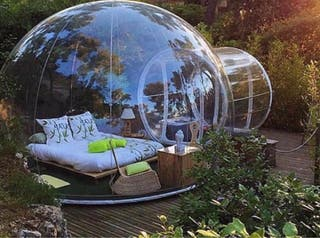 Burbuja hinchable