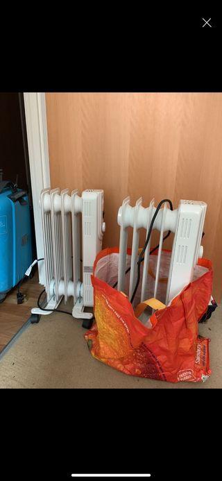 2 Plugin Oil Heaters