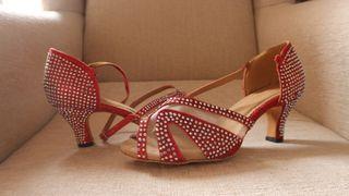 bfe6bf4c Zapatos de baile salsa de segunda mano en WALLAPOP