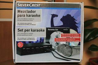 mezclador karaoke