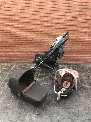 Trio Cybex Callisto cochecito y accesorios