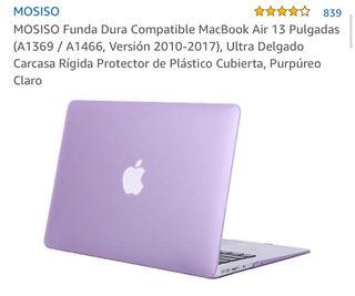 Funda Dura compatible con Macbook Air 2010-2017.