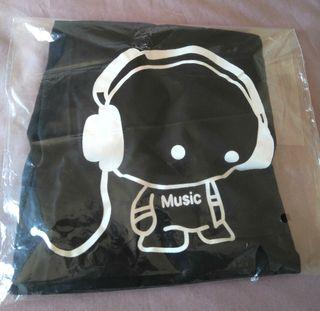 Camiseta Casual Music