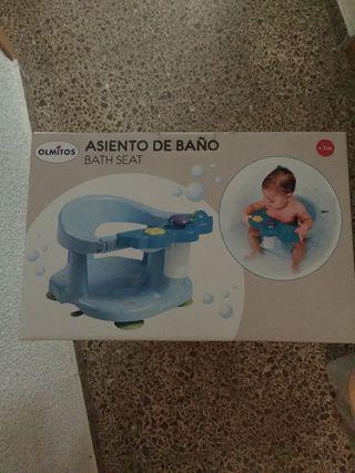 Asiento Bebé Baño