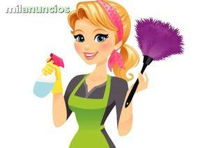 busco trabajo de niñera y linpiadora