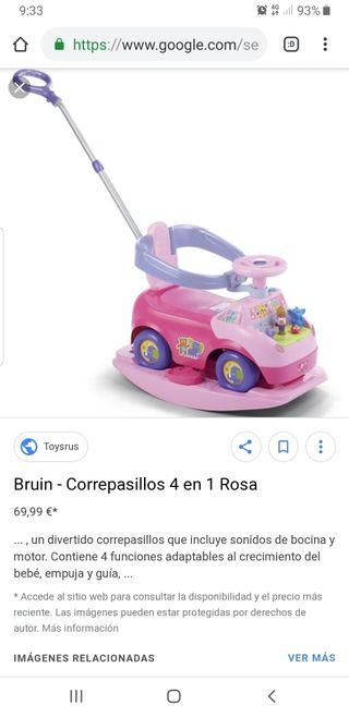 Correpasillos 4 en 1 Rosa toys r us