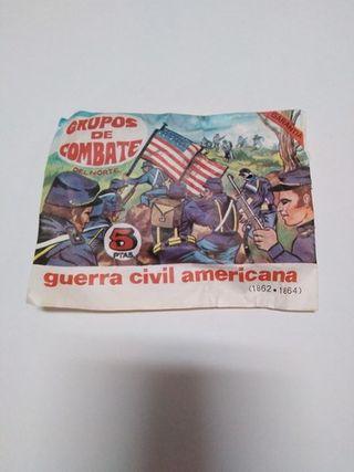 SOBRE SOLDADITOS GUERRA CIVIL AMERICANA