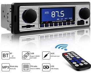 Radio coche Bluetooth . sin estrenar.