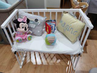 Cuna colecho Babybay Midi con colchón