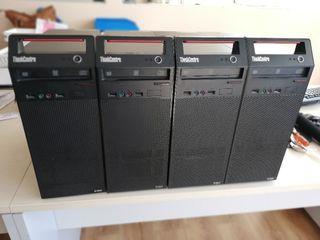 vendo 4 PC Lenovo Think entre A70
