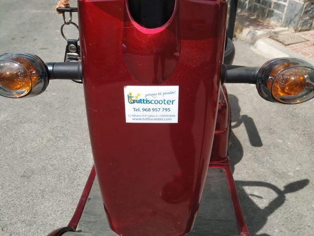scooter para minusválidos