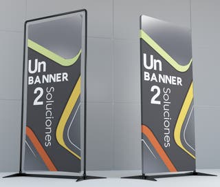 Banner desmontable