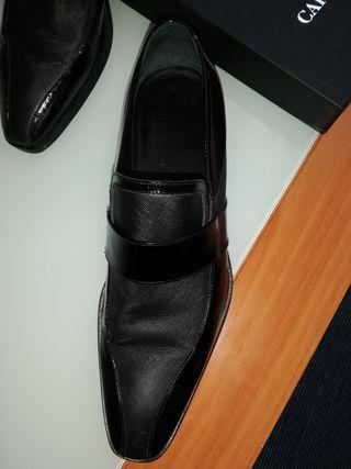 Zapatos novio Caramelo