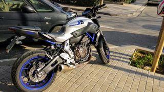 Yamaha MT 07 ABS 2016