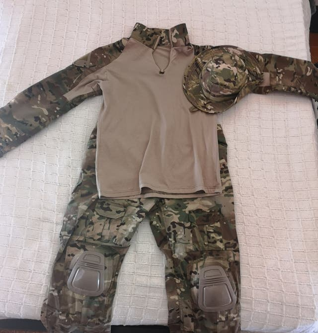 uniforme combat multicam
