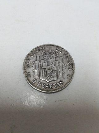 moneda 2 pesetas