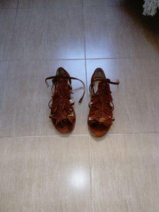 Flecos En Wallapop Sandalias Con De Segunda Zara Mano xrdCBQeoW