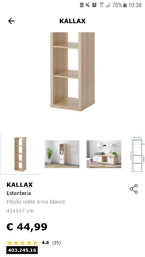 Estanteria Ikea Kallax