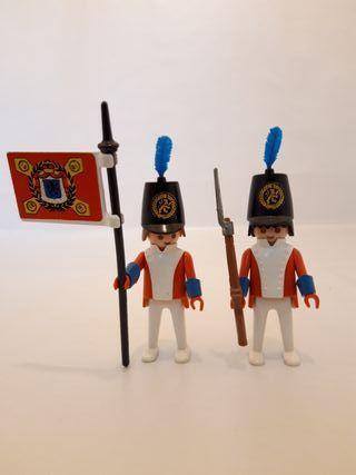 Soldados ingleses antiguos playmobil