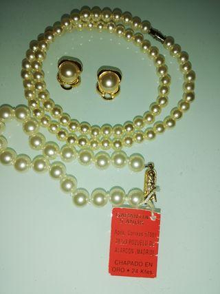 af246613410d Pulsera de perlas de segunda mano en la provincia de Teruel en WALLAPOP