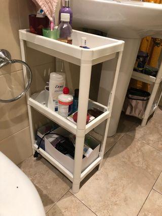 2 Estanteria de baño IKEA