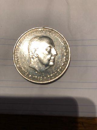 Moneda Francisco Franco 100 Ptas.