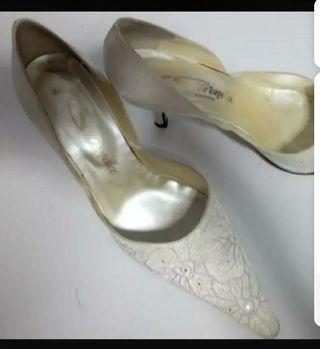 Zapatos de novia número 40