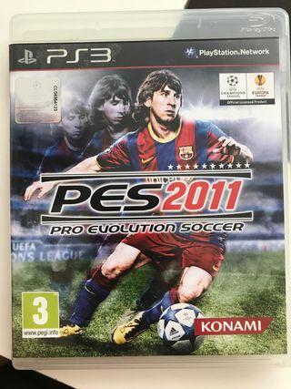 Juego PS3 PES 2011