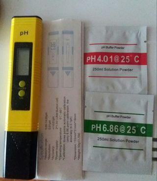 medidor digital ph