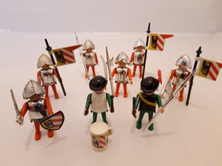 lote medievales antiguos playmobil