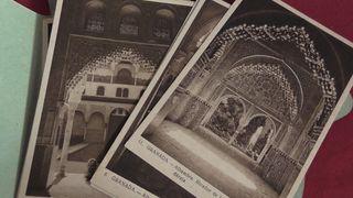 postales antiguas de la alhambra