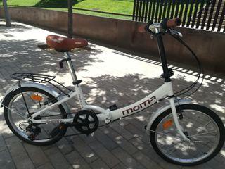 Bicicleta MOMA plegable, excelentes condiciones.