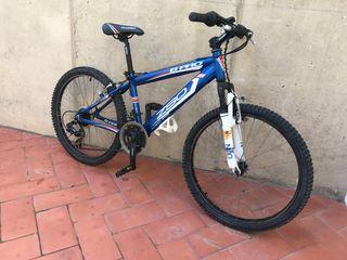 "Bicicleta alumini infantil roda 24"""