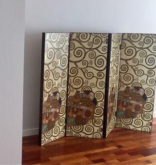 Biombo Gustav Klimt