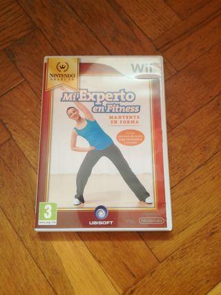 videojuego WII Mi experto en fitness
