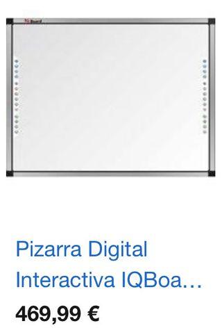 Pizarras iqBoard interactivas