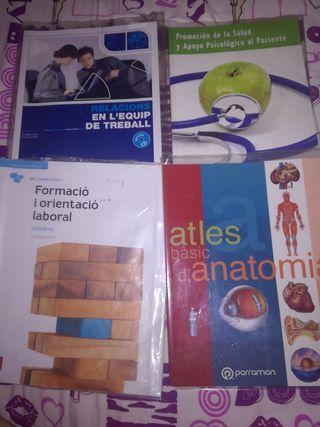 Libros Auxiliar de Enfermería