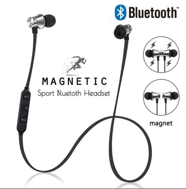 Auriculares Magnéticos por Bluetooth