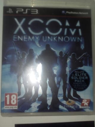 Juego ps3 xcom enemy unknown