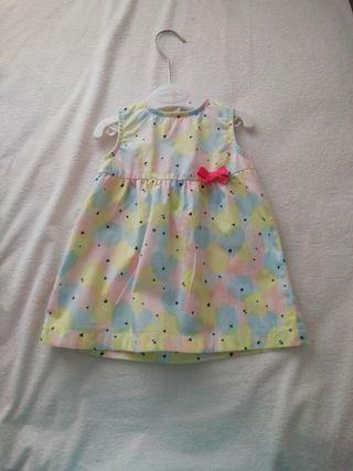 Vestido para niña, talla 68, 3-6 meses